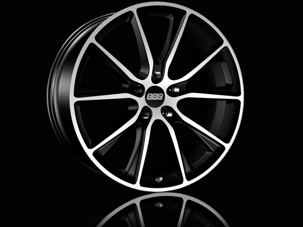 "BBS SV satin black diamond cut 20"" and 22"""