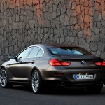 BMW 6 Series Gran Coupe Rear