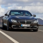 BMW 6 Series Gran Coupe on the Road