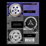 HRE Wheels 454 505 - HRE Wheels Vintage Series