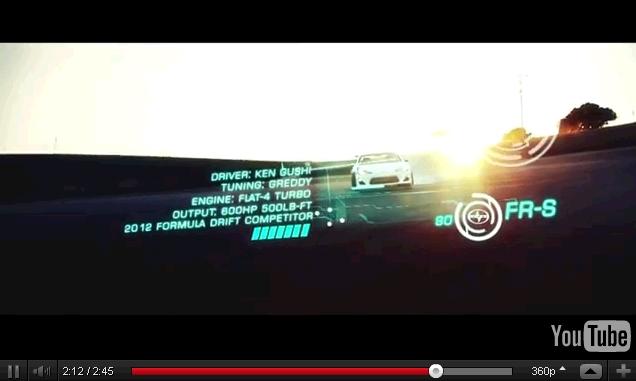 Scion FR-S Greddy Turbo Drifting at Laguna Seca