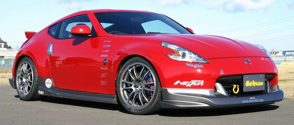 Enkei GTC01 on Nissan 370Z