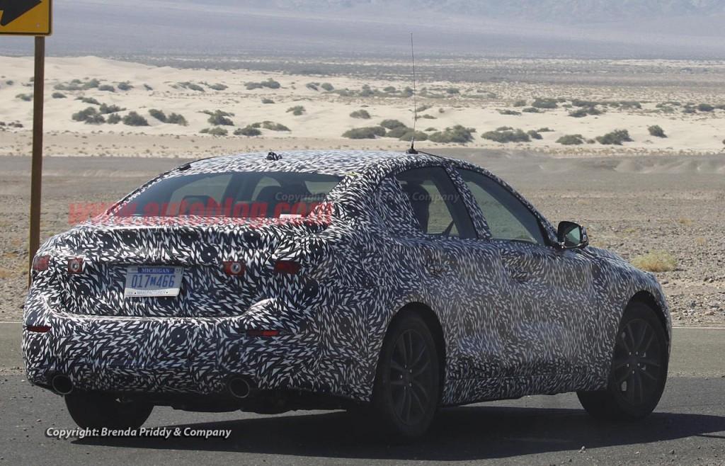 Infiniti G37 Sedan Spy Shots